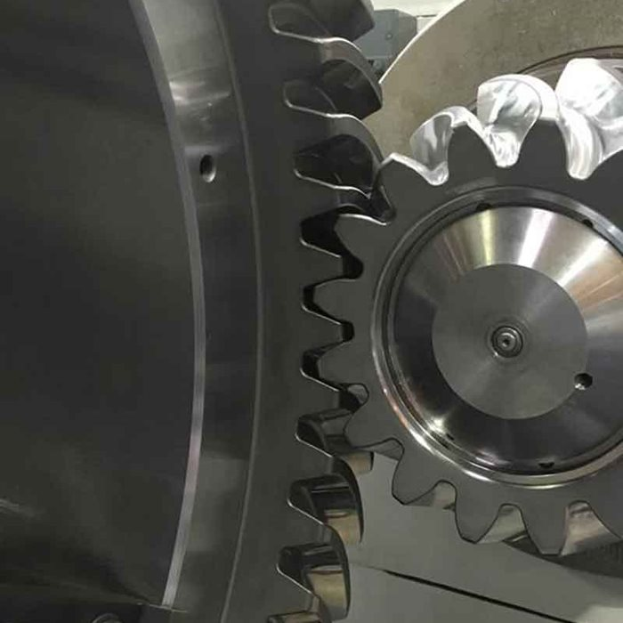 Offset eccentric gear upgrade for Metso Superior Primary Gyratory  Crusher