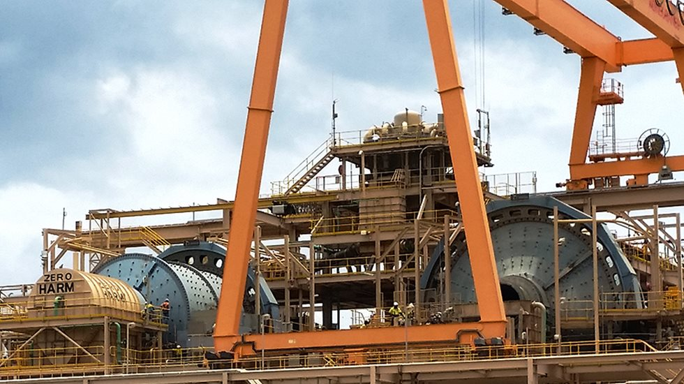 Megaliner at Newmont's Akyem operation