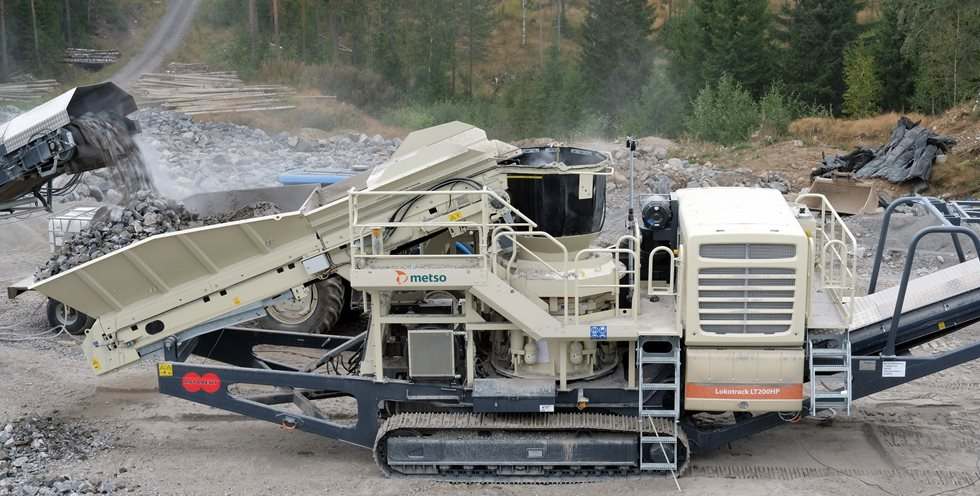 Metso's rental equipment at Sydänmaa farm