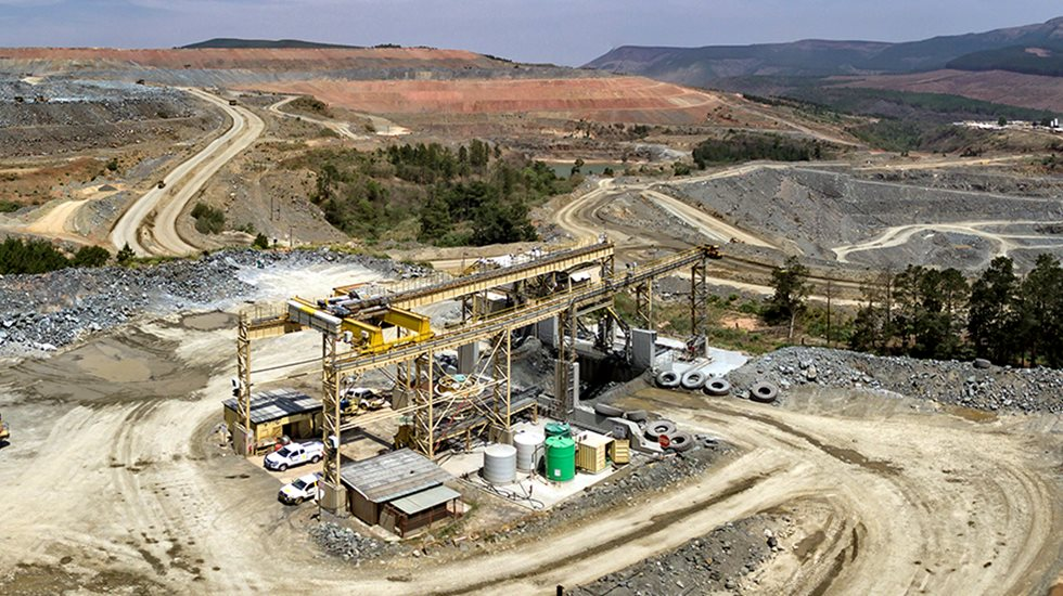 The Nkomati Nickel Mine in South Africa