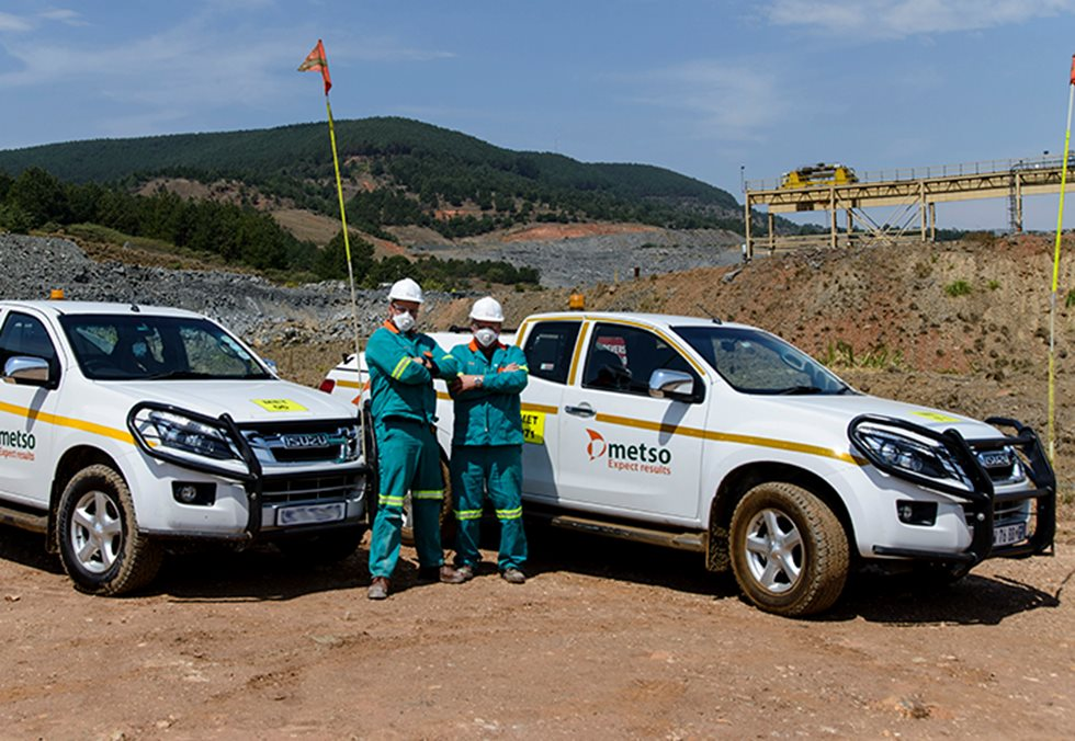 Metso team laid out in Nkomati Nickel Mine