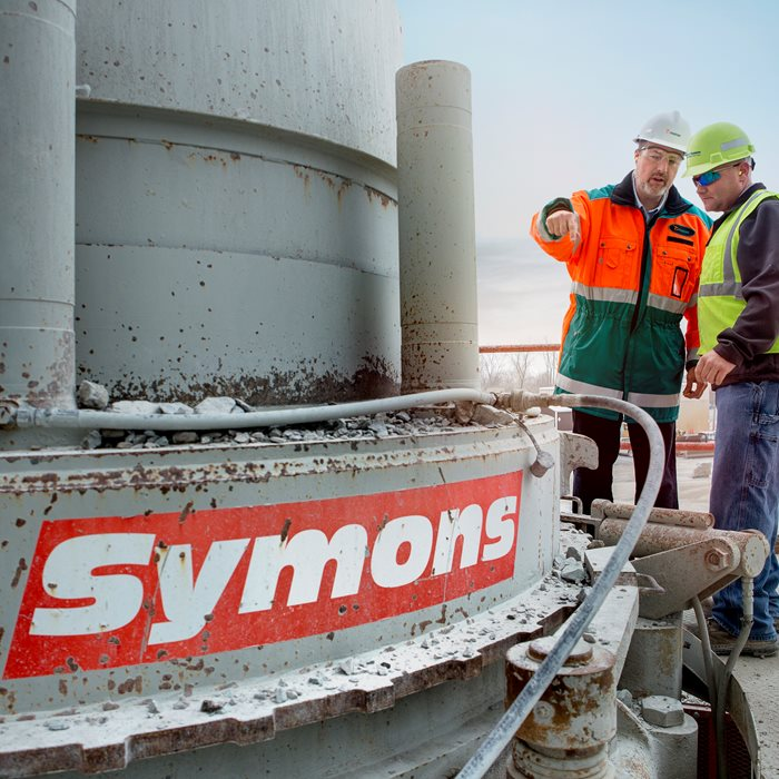 Upgrades for Symons Cone Crushers.
