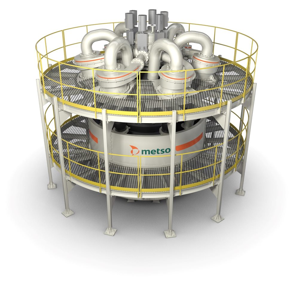 The Metso MHC cluster design is standardized.