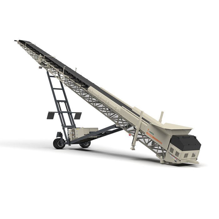 Nordtrack™ CW100 mobile conveyor 3D image.