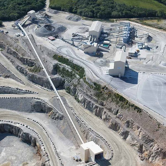 Metso Outotec has designed and delivered equipment and services for quarries for decades.