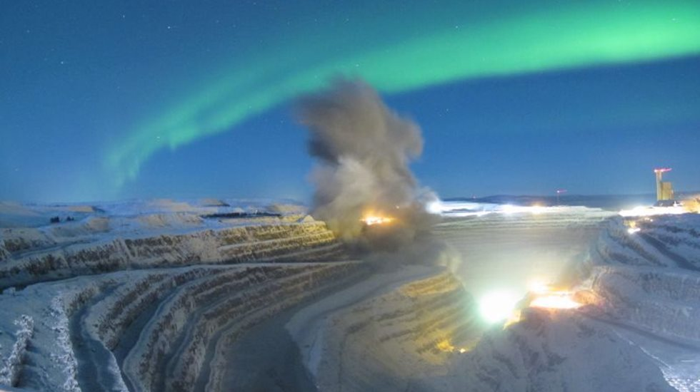 Metso performs drill and blast at Boliden mine in Sweden