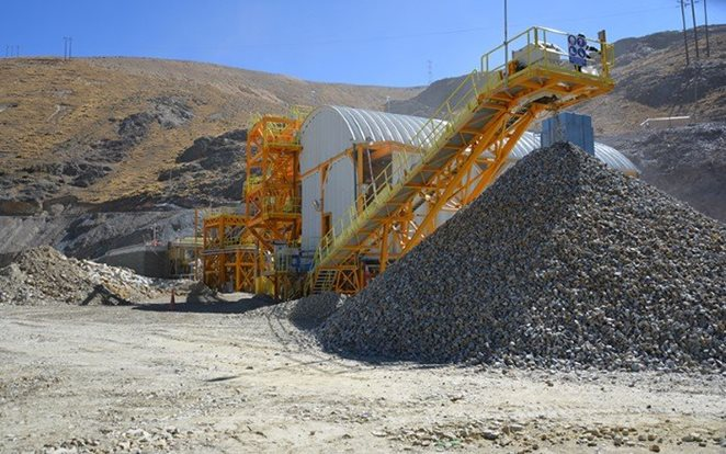 Ore sorting plant