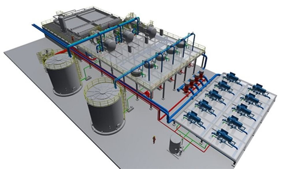 Outotec Process Water Recycling plant