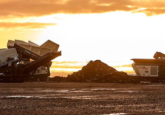 Nordtrack™ mobile crushers make it easy to get your operations up and running.
