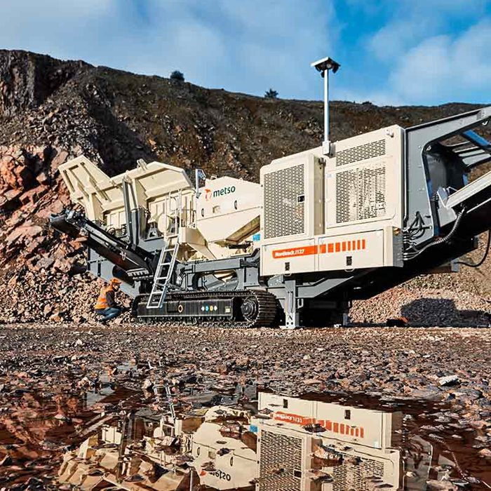 Nordtrack™ range of mobile crushing equipment is ideal solution for contracting jobs.