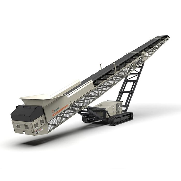 Nordtrack™ CT Series track-mounted conveyors makes it easy to get your operations up and running on time and on budget.
