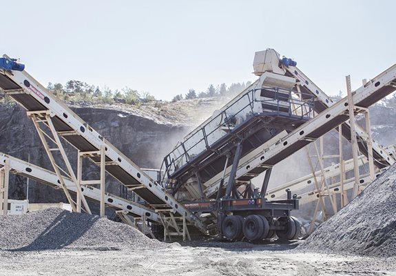 NW Rapid™ - Wheel-mounted crushing and screening plants.