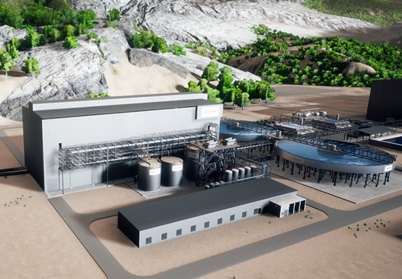 Dry Tailings Plant