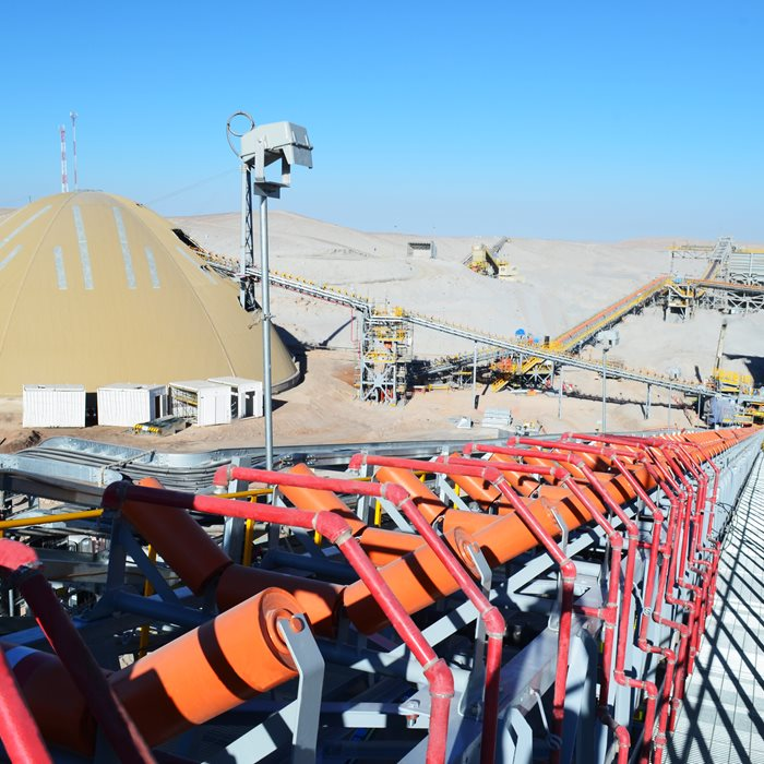 Metso Outotec material handling systems involves all experience and expertise in material transportation in mining applications.