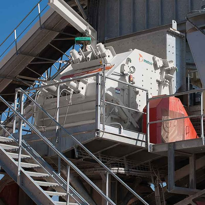 Technical innovations improve Nordberg® NP™ crushers' reliability.