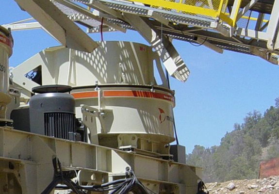Barmac® B7150SE™ vertical shaft impact (VSI) crusher.