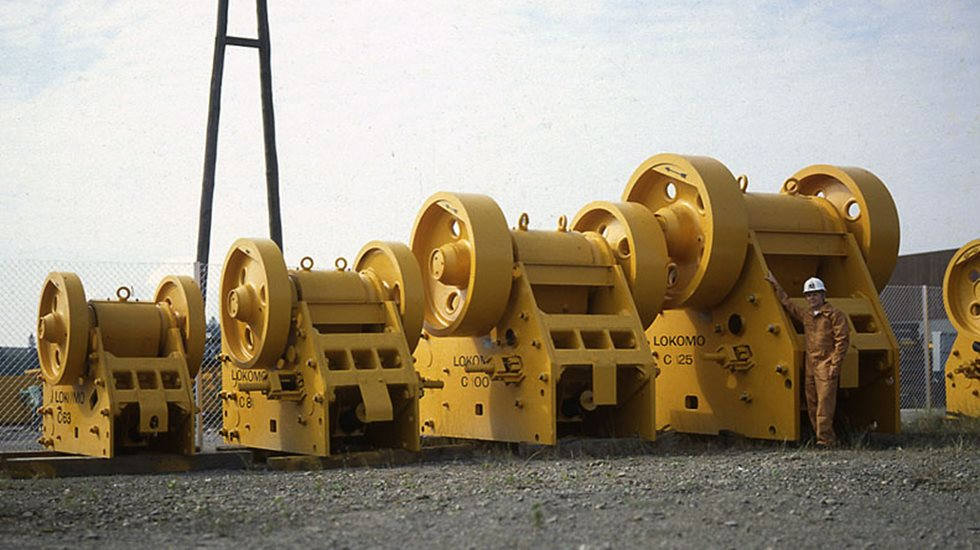 C Series jaw crushers