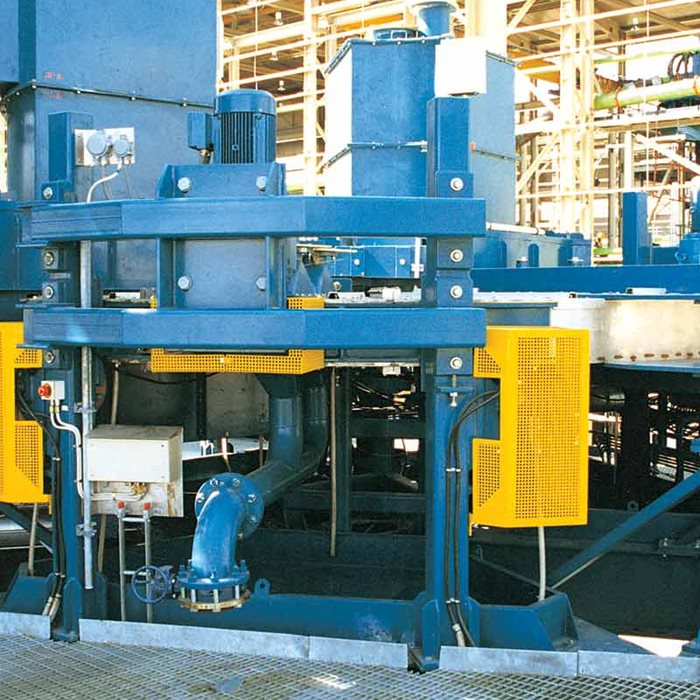 Metso HGMS magnetic separators are available use either cycling or continuous process mode.